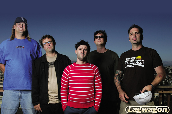 Foto der Band Lagwagon